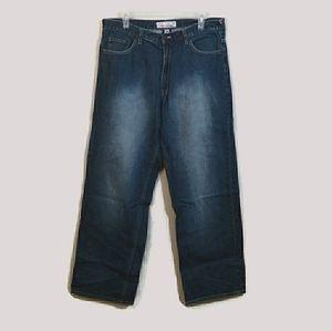 Ecko Unlimited Mid Rise Boot Cut Jeans Sz 34x32